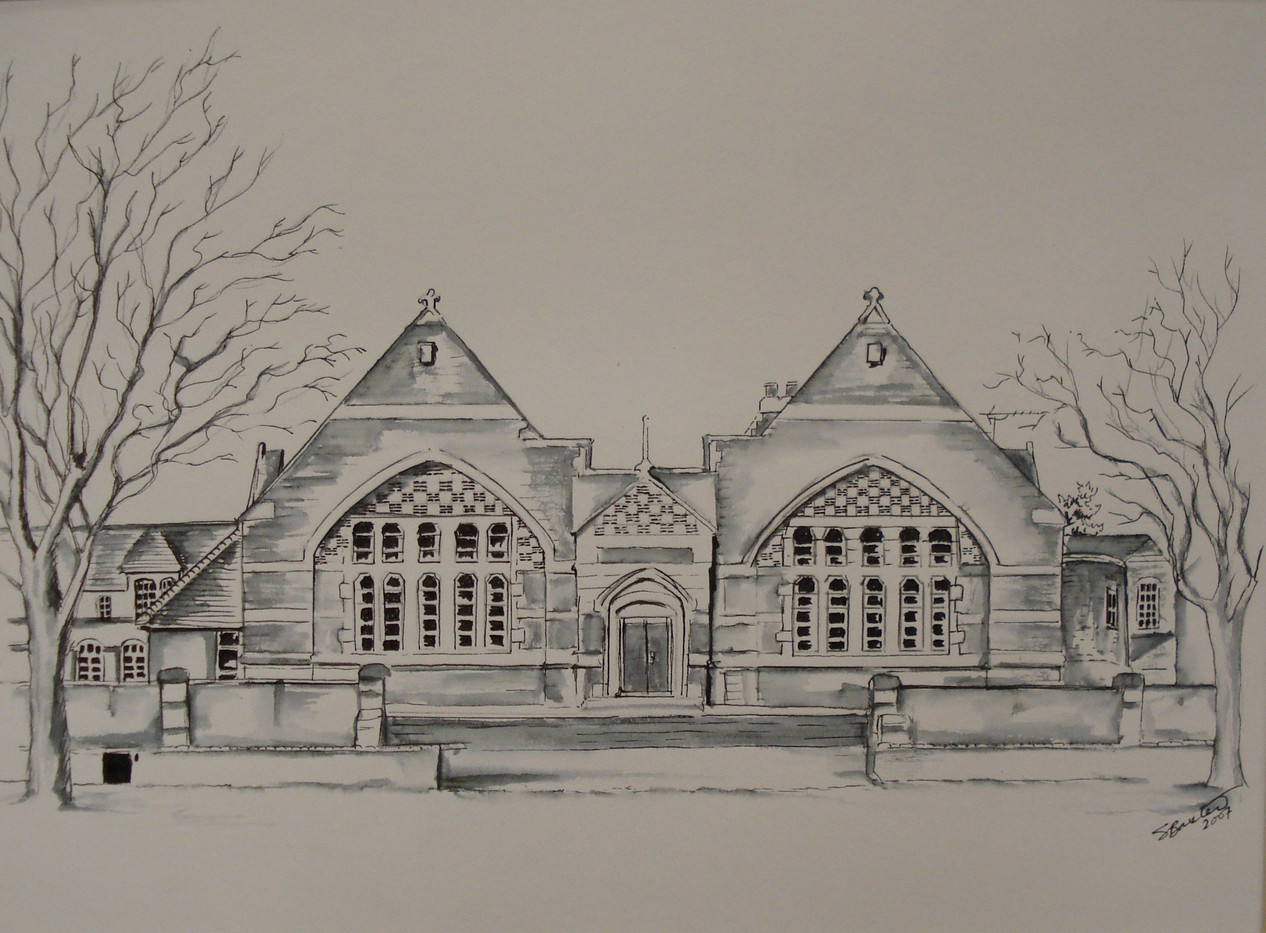 Gordon's School. The Rec.