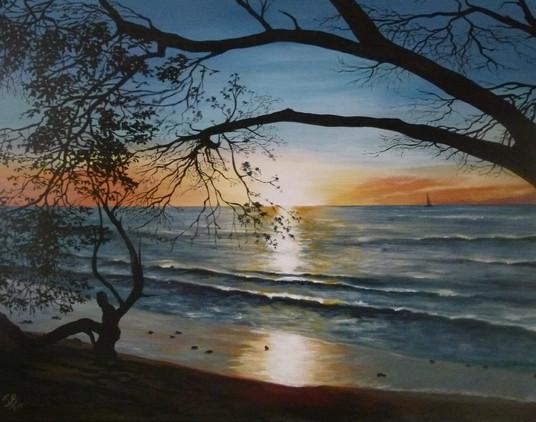 Barbados Sunset.