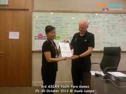 Level 3 Technical Award to Chang Irene