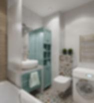 3D Визуализация ванных комнат