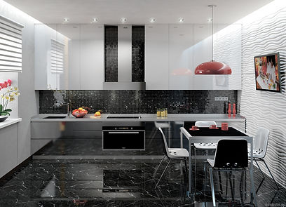 Что лучше на кухне плитка или ламинат