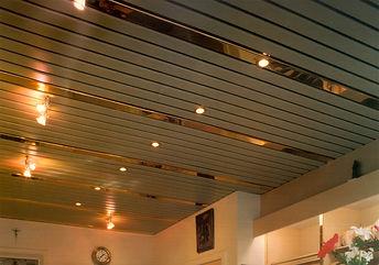 Потолки из ПВХ-панелей
