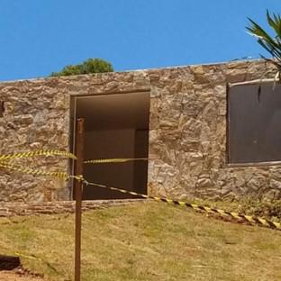 Pedra Madeira Amarela Instslação Padrão