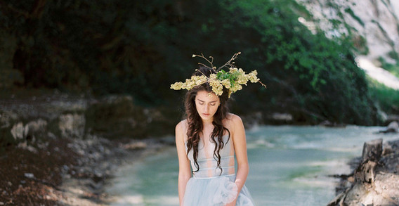 My Ninfa - bridal editorial