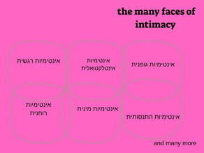 אינטימיות - פנים רבות לה...