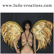Golden Wings www.ludo-creations.com #lud