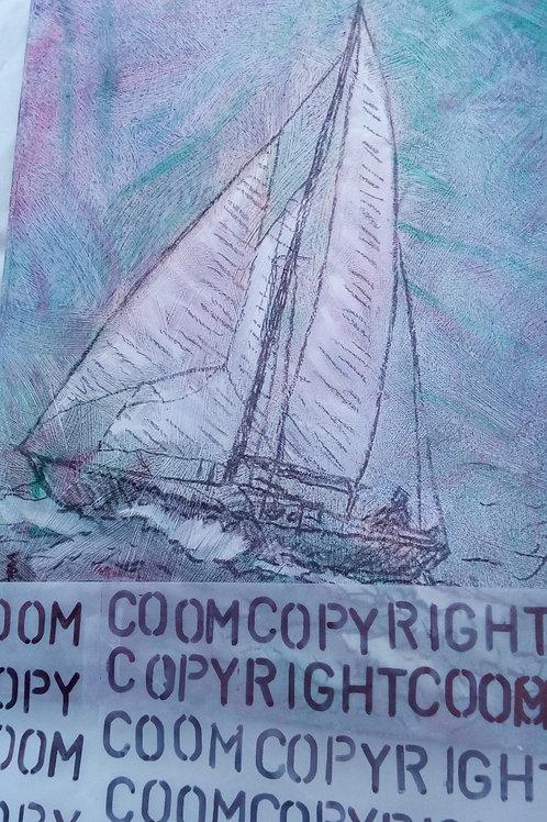 Yacht at Edinburgh Forth