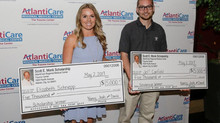 AtlantiCare Employees Receive Scott E. Monk, DO, Memorial Scholarships Presentation part of AtlantiC