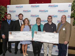 AtlantiCare Employees Receive Scott E. Monk, DO, Memorial Scholarships Presentation part of AtlantiC