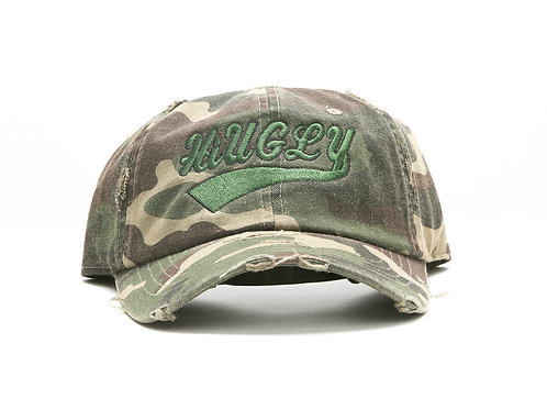 Camouflage dad hat