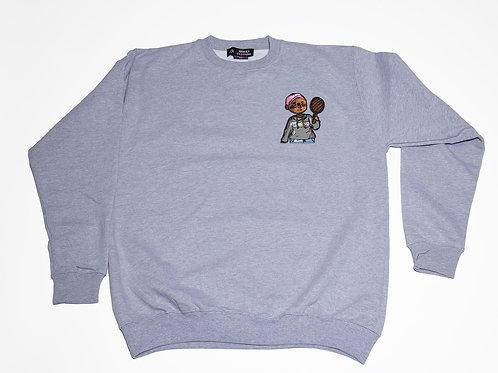 Lil Ugly Gray Crewneck sweater