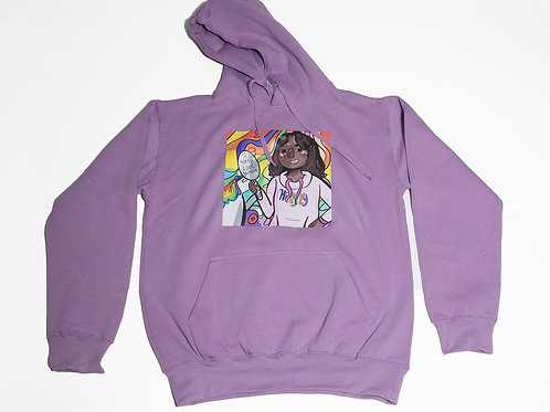 U gotta Love yaself Purple hoodie