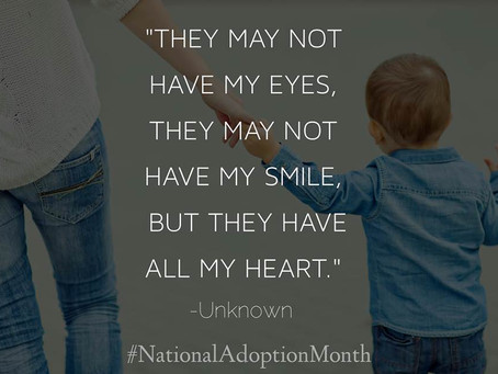 November is National Adoption Awareness Month | Mindfulpath | Diana Beck