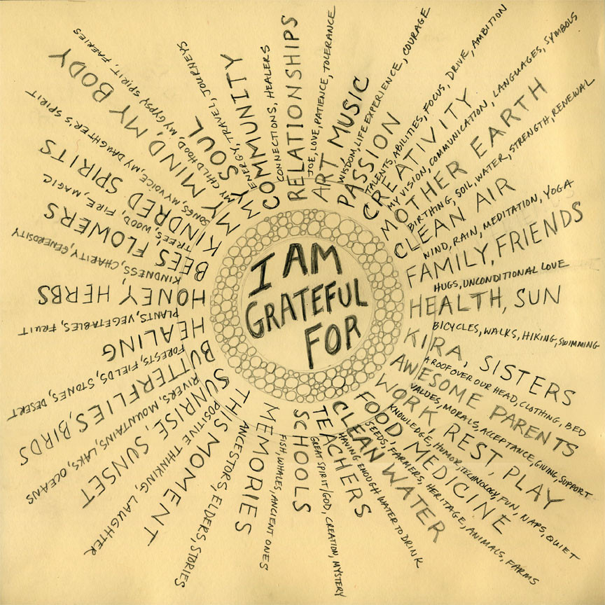 integrate a gratitude practice to improve mental health