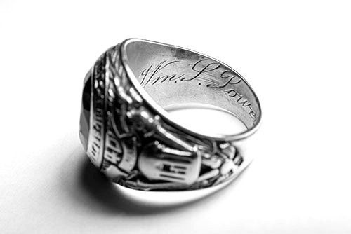 Artifact of the Month: 1940 Class Ring