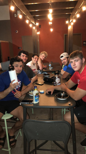 Team Dinner at the US OPEN