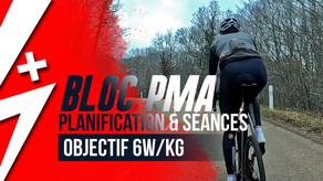 Début d'une préparation, planification et bloc PMA #Plusdewatts1