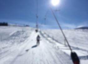 Skifahren Ski Skilift Haslerbar Schnee Skiferien