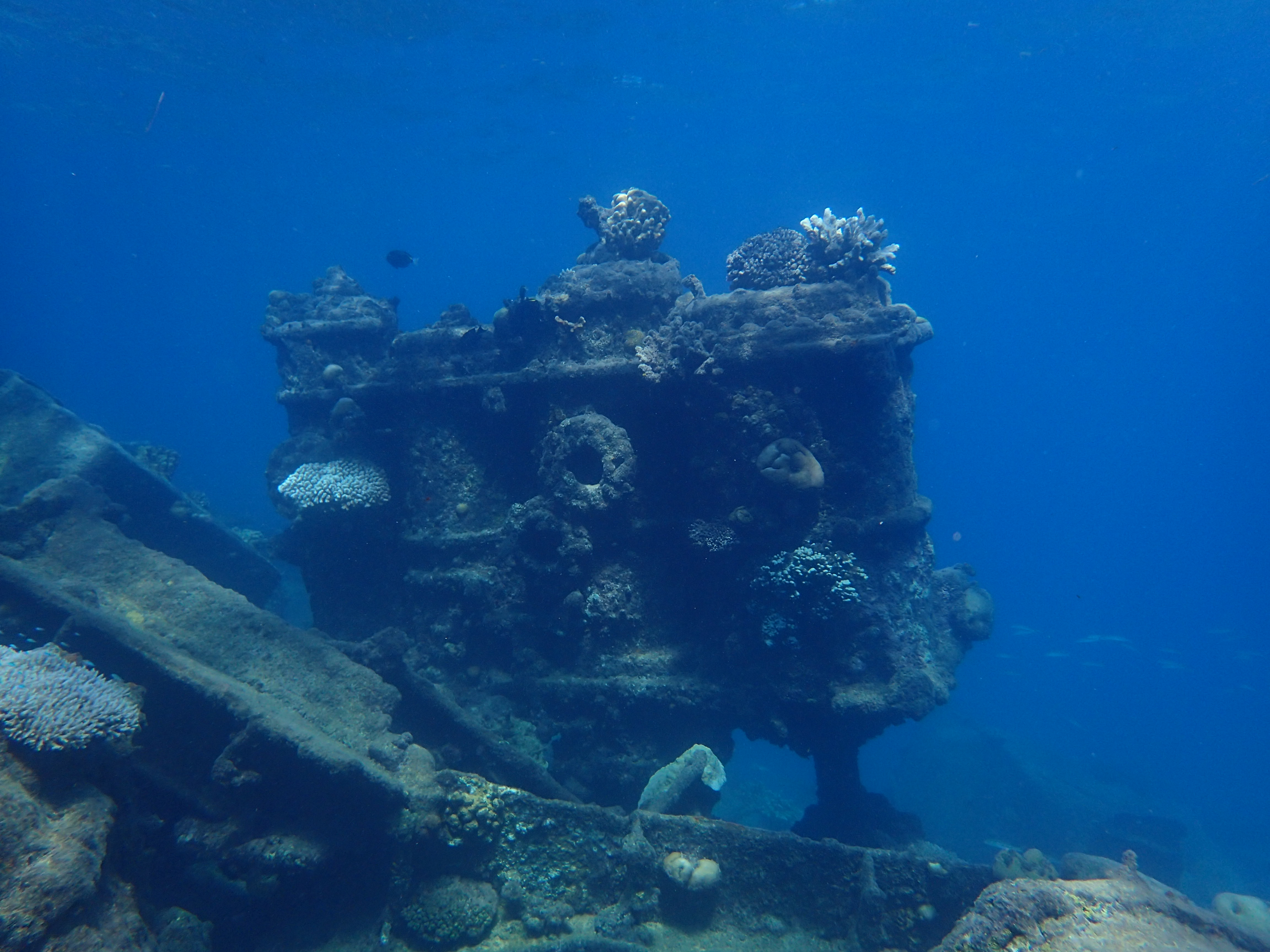Chin Sen Mauru shipwreck