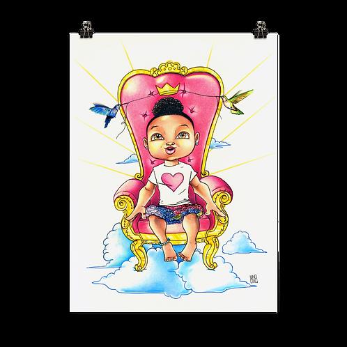 Baby Queen Print