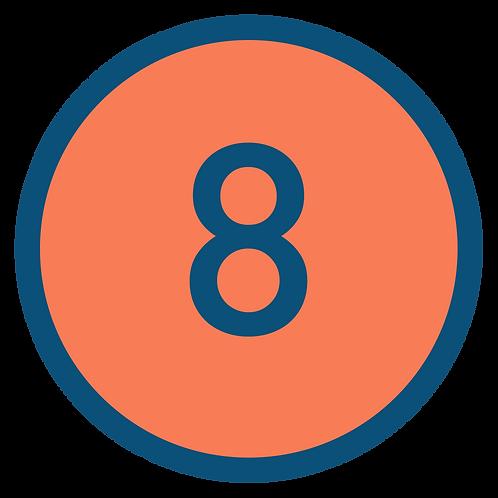 8 aulas