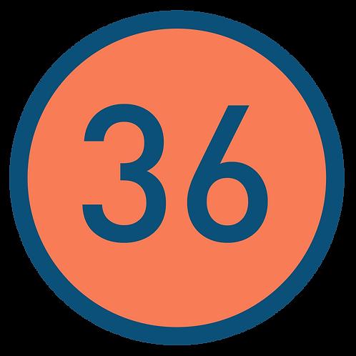 36 aulas