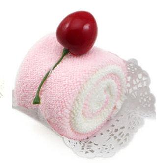 櫻桃Cupcake毛巾