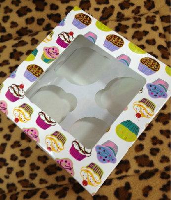 CupCake蛋糕盒( 四個装)