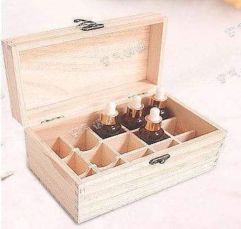 精油木盒(15格)