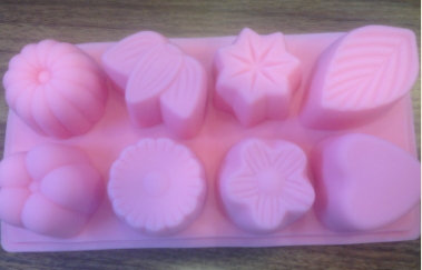 8格矽膠皂模