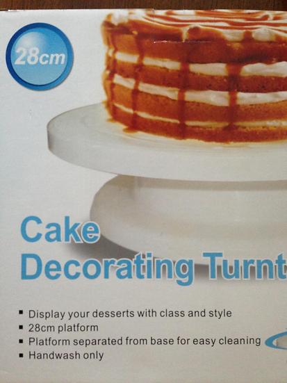 蛋糕皂旋轉台