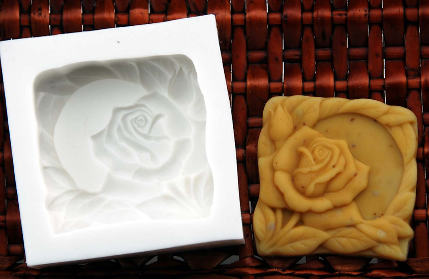 方型玫瑰模具
