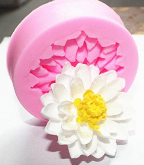 菊花矽膠模