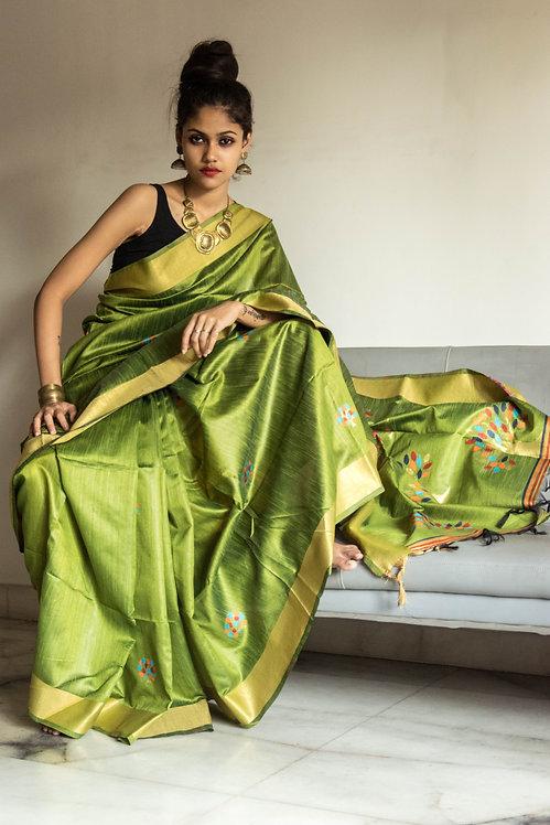 Green Fairy - Green Silk