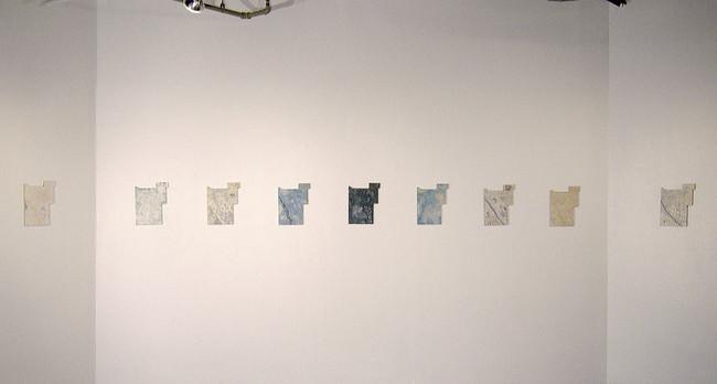 Envolée, série de 12 tableaux
