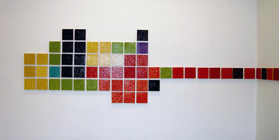 Paysages croisés, installation 3