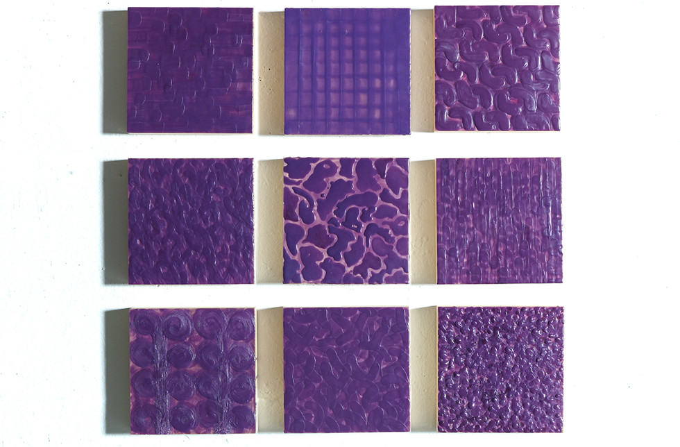 MULTIPLES 81 - Jeux de texture et couleur