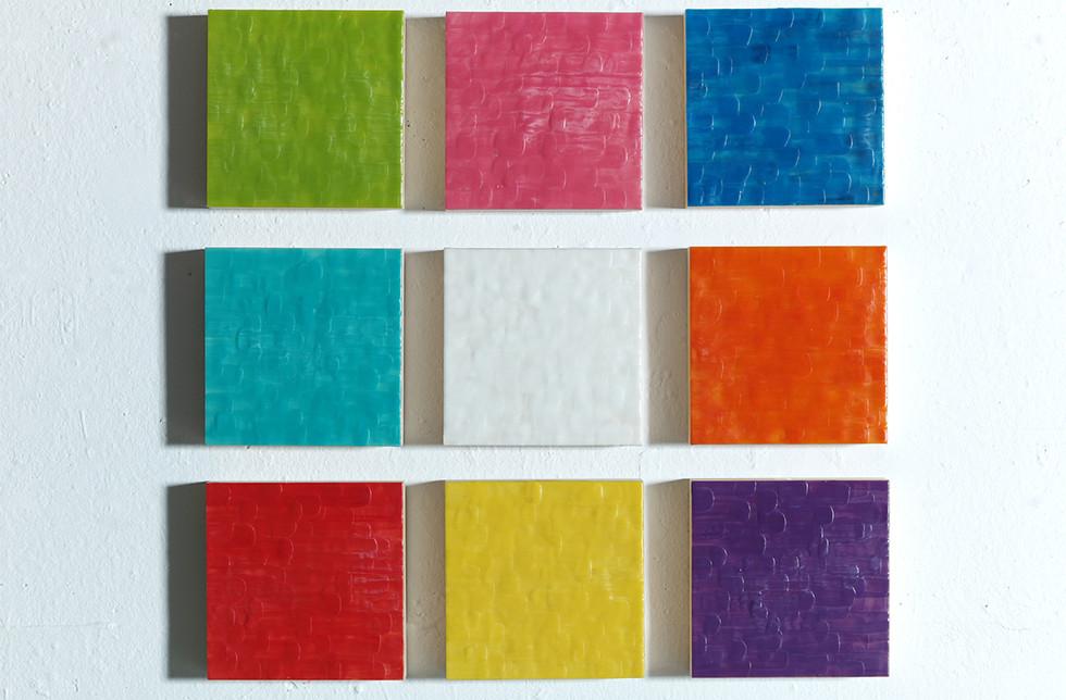 0MULTIPLES 81 - Jeux de texture et couleur