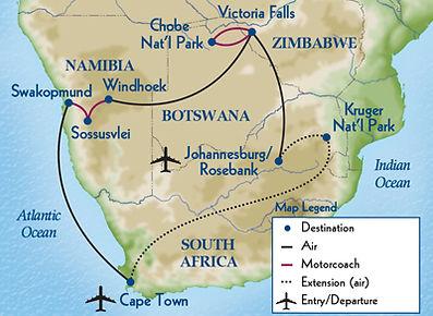 Odysseys  Southern Africa  2020 - map.jp