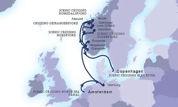 Seabourn 19 Jun 2021 Amsterdam to Copenh