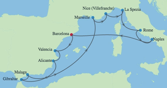 CELEBRITY SILHOUETTE Barcelona 8 Nov 202