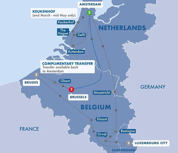 Trafalgar - BEST OF HOLLAND BELGIUM AND