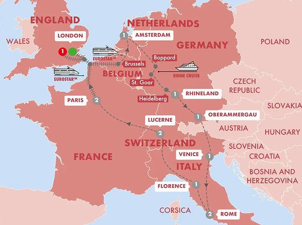 Trafalgar - European Whirl With Oberamme