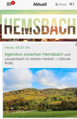 Aktuelles aus Hemsbach