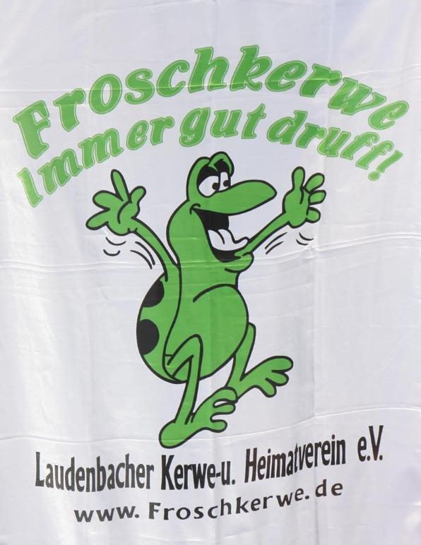 Kerwe T-Shirt für Frosch Kerwe