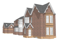 Proposed View of Side of Property