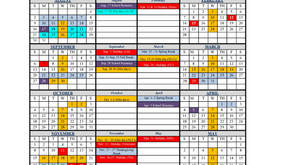 2020-2021 SCHOOL CALENDAR - UPDATED SEPTEMBER 2020
