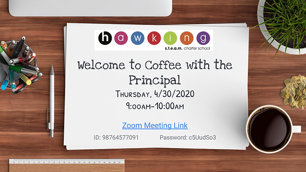 Coffee With the Principal- 4_30_20.png