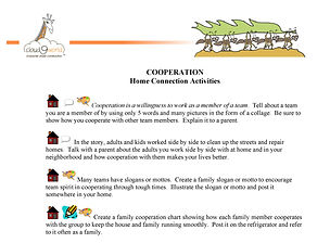 Home Connection_Cooperation English 2016