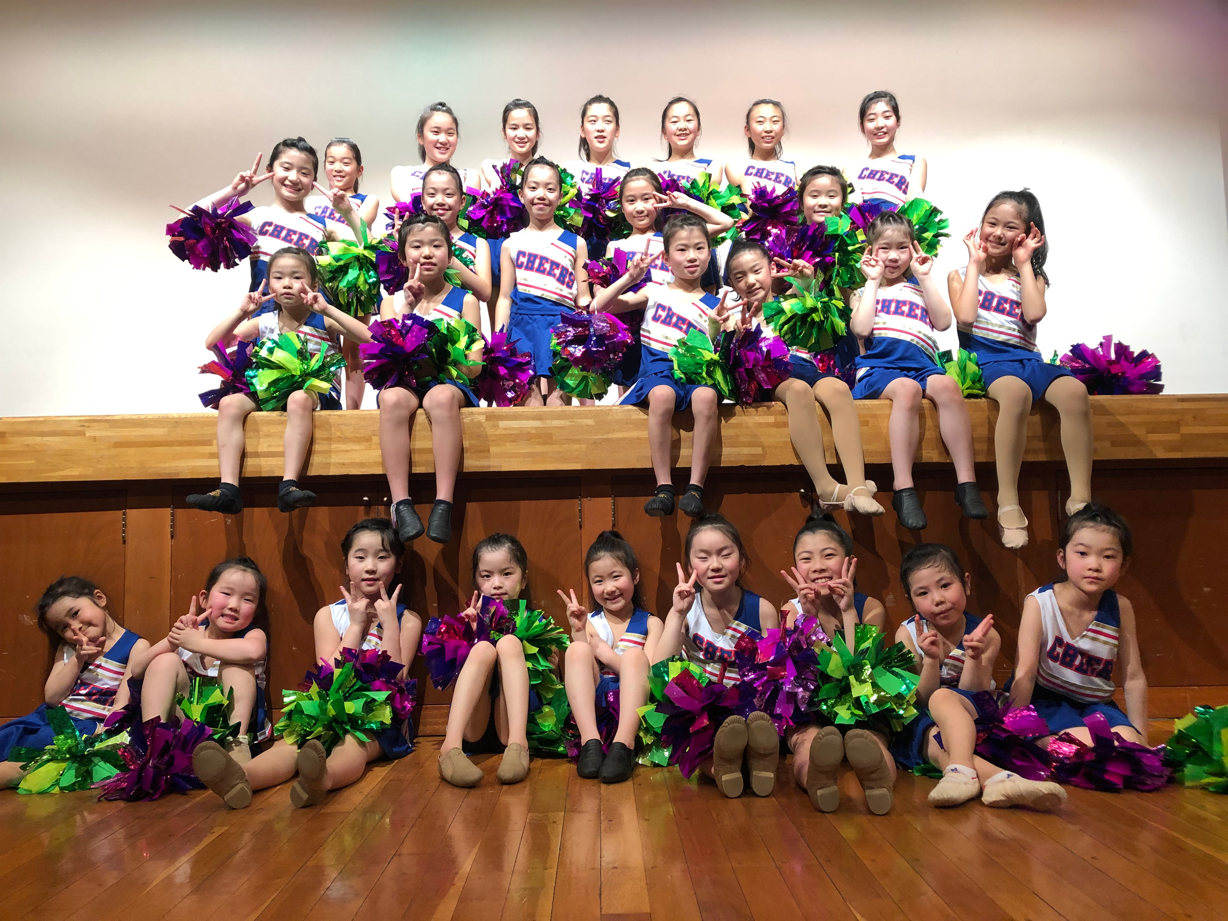 宮の沢チアダンスチームSweety Fruits